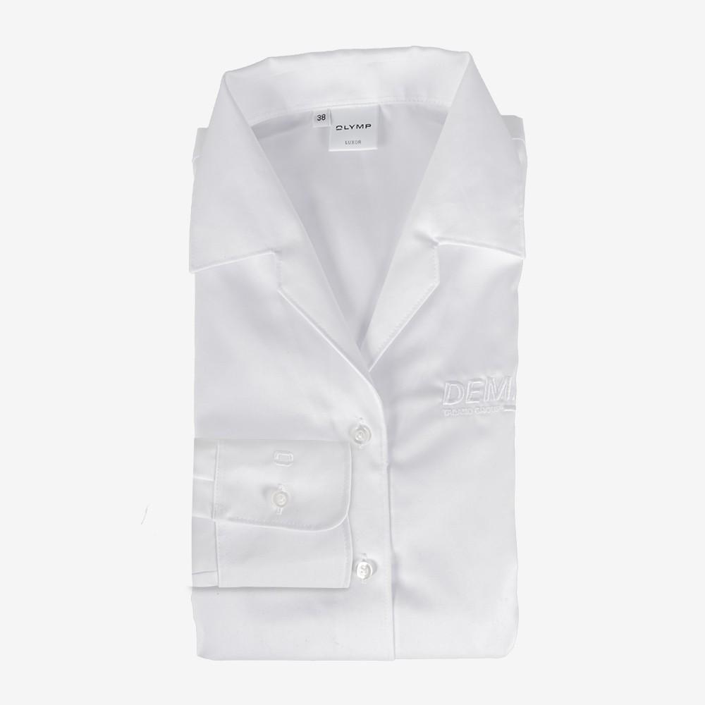 DEMAG OLYMP Luxor Women's business shirt white [open collar form]