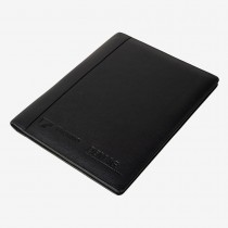 High-quality leather writing folder